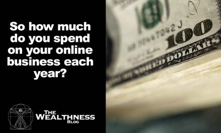 So how much do you spend on your online business each year?