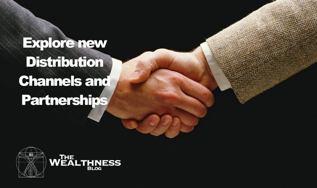 Explore New, Different Distribution Channels and Partnerships