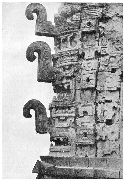 Details of the Nunnery at Chichen-Itza