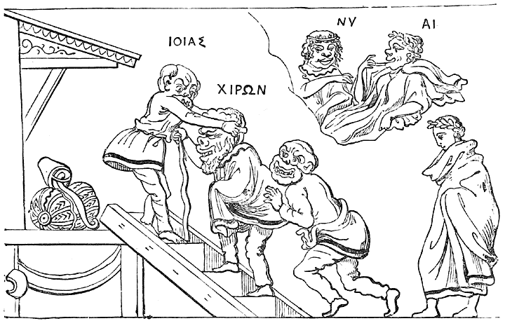 Greek Caricature of the Gods.