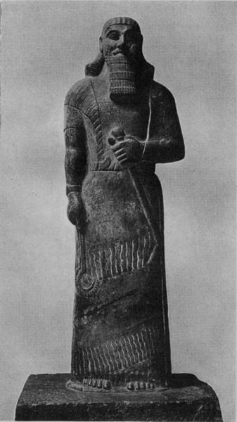 STATUE OF ASHUR-NATSIR-PAL, WITH INSCRIPTIONS