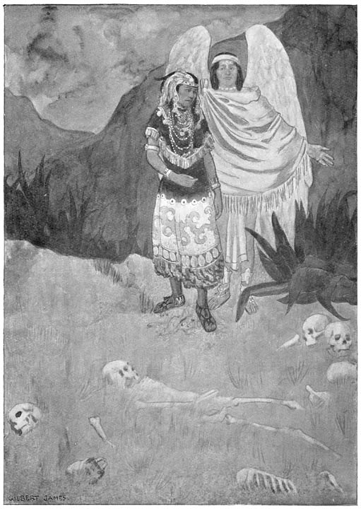 The King's Sister is shown the Valley of Dry Bones