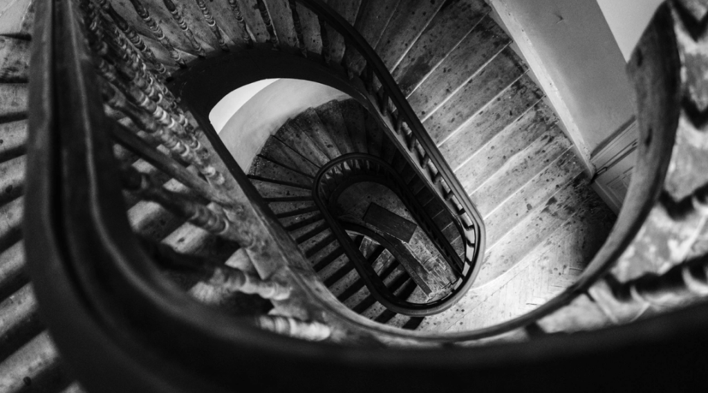 The Legend of the Winding Stairs.